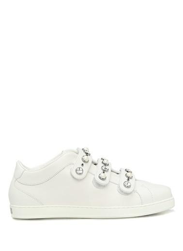 Jimmy Choo Spor Ayakkabı Beyaz